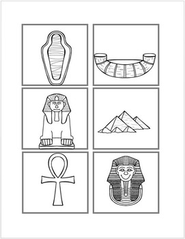 Egyptian File Folder Matching