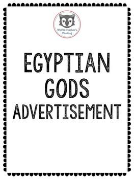 Egyptian Gods Advertisement Project