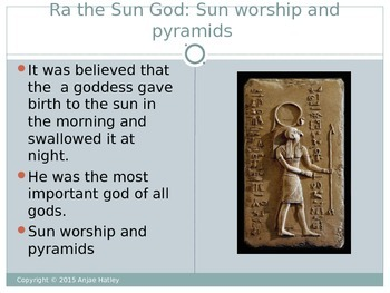 Egyptian Gods and Goddess Overview