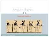 Egyptian Gods and Goddess Overview