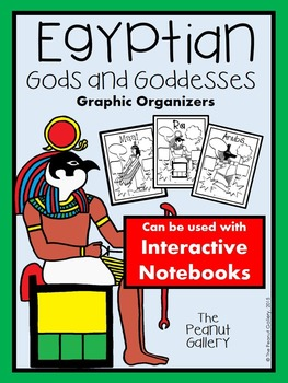 Egyptian Gods and Goddesses Graphic Organizers