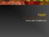 Egyptian Gods and Goddesses Power Point