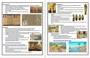 Ancient Egypt: Gods and Religion