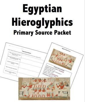 history of hieroglyphics