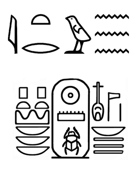 Egyptian Imitation Papyrus Bookmark Craft