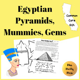 Egyptian Pyramids + Mummies + Gemstones [Math Stations]