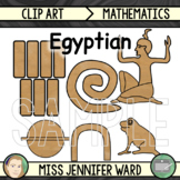 Egyptian Mathematics Clip Art