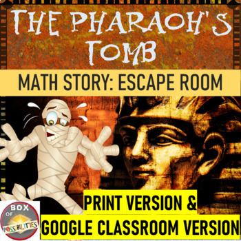 Egyptian Math Mystery Story: Use maths to defeat the mummy