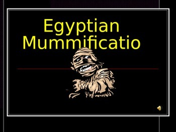 Egyptian Mumification