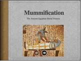 Egyptian Mummification Process BUNDLE