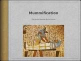 Egyptian Mummification Process Powerpoint