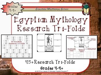 Egyptian Mythology Gods and Goddesses Mega Activity Bundle