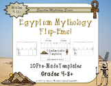 Egyptian Mythology Interactive Research Flip-Ems