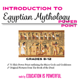 Egyptian Mythology Introduction PowerPoint