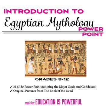 Egyptian Mythology Introduction PowerPoint