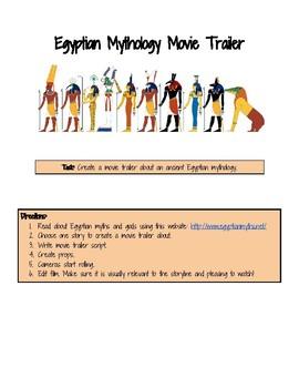 Egyptian Mythology Movie Trailer