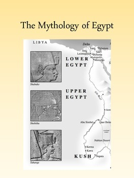 Egyptian Mythology Unit