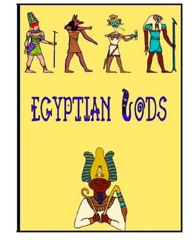 Egyptian Mythology activity packet