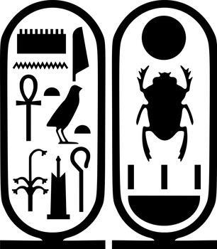 Egyptian Nameplate Activity
