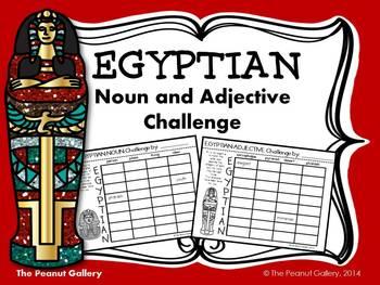 Egyptian Noun & Adjective Challenge