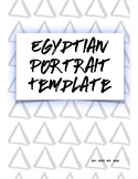 Egyptian Portrait Template! Add an AMAZING headpiece on th