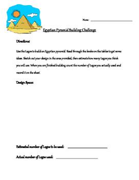 Egyptian Pyramid Building Challenge