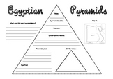 Egyptian Pyramids Research Worksheet
