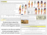 Egyptian Religion - Homework