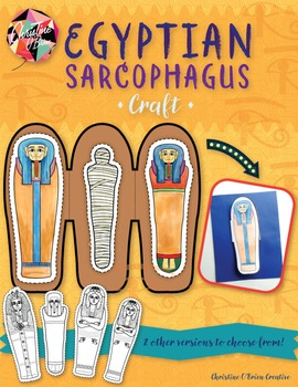 Egyptian Sarcophagus Craft - Build your own sarcophagus!
