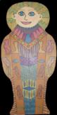Egyptian Sarcophagus {MrsBrown.Art}