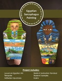 Egyptian Sarcophagus Painting