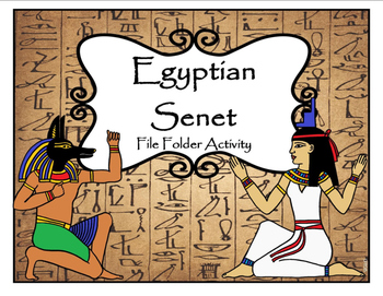 Egyptian Senet File Folder Activity