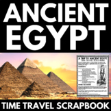 Ancient Egypt Unit - Time Travel Scrapbook