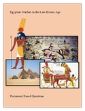 Egyptian Warfare in the Late Bronze Age: Document Based Questions
