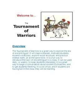 Egyptian Warrior Game (doc)
