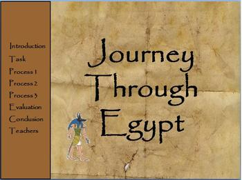 Egyptian Webquest