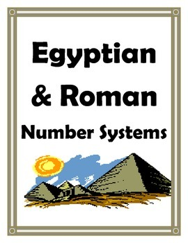ANCIENT EGYPT AND ANCIENT ROME NUMBER SYSTEMS