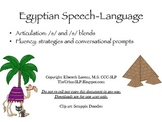 Egyptian articulation and fluency game