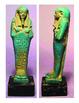 Egyptian clay shabtis