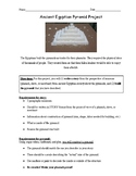 Egyptian pyramid project