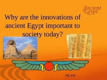 Egytian Inventions