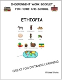 Ehtiopia, Africa,  fighting racism, distance learning, literacy (#1228)