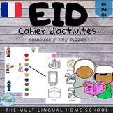 Eid Activity Book in French for Pre-K/K