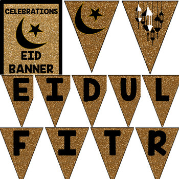 Eid Celebrations Banner (Welcome Eid ul-Fitr and Eid ul-Adha)