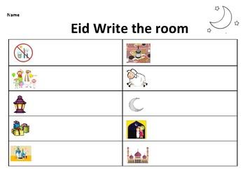 Eid Write the room