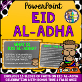 Eid al-Adha PowerPoint Editable (All About Eid ul-Adha Facts with Quiz)