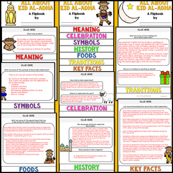 Eid al-Adha Research Flipbook (All about Eid Celebration Facts & Activities)