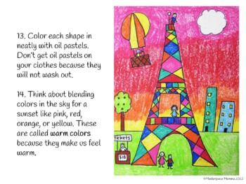 Eiffel Tower Drawing Lesson