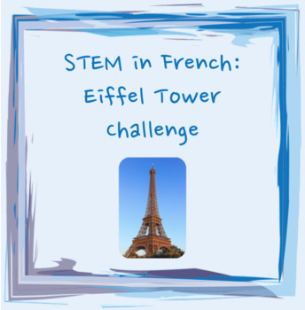 Eiffel Tower Popsicle Stick Challenge - French Cultural Ha