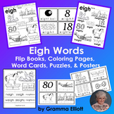 Eigh Word Learning Activities BW Only
